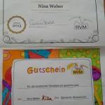 Wunderschön ausgemalt von Gewinnerin Nina Weber